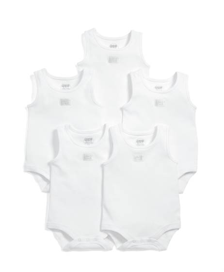 Sleeveless Bodysuits (Set of 5)