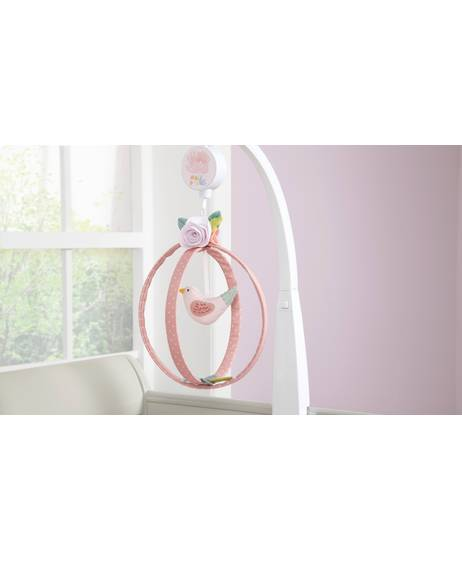 Ava Rose Musical Mobile - Pink