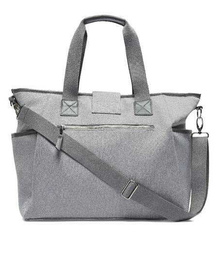 Tote Bag - Grey Herringbone