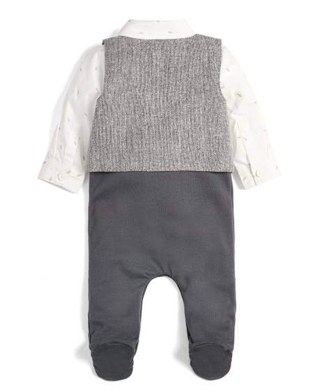Mock Waistcoat All-in-One