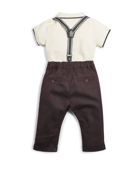 Polo Shirt & Trousers - 2 Piece Set
