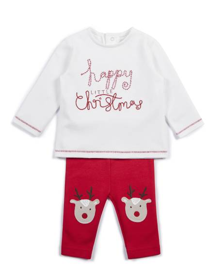 Christmas Top and Leggings - 2 Piece Set