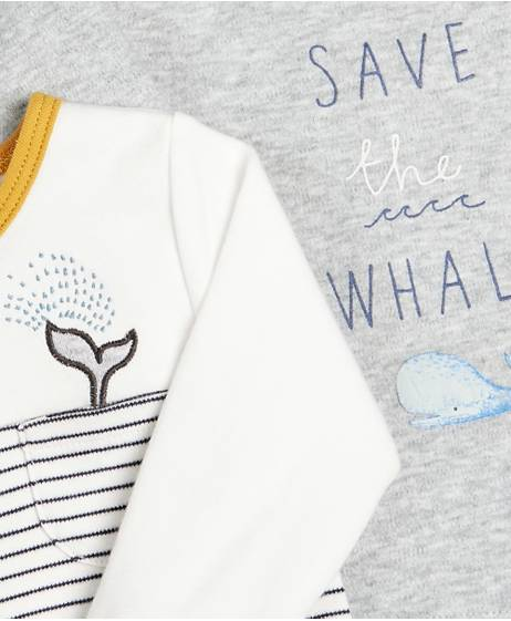 Whale T-Shirt - 2 Pack