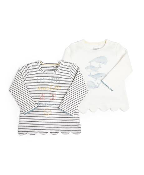 Seashell T-Shirt - 2 Pack