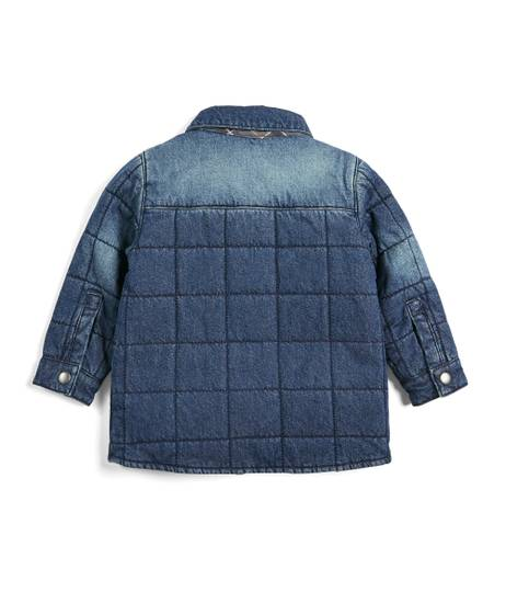 Quilted Denim Shacket