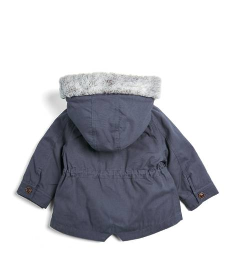 2 in 1 Parker Coat - Navy