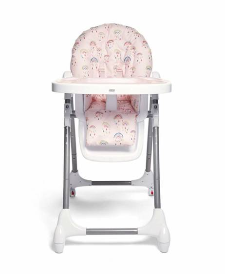 Snax Highchair - Rainbow