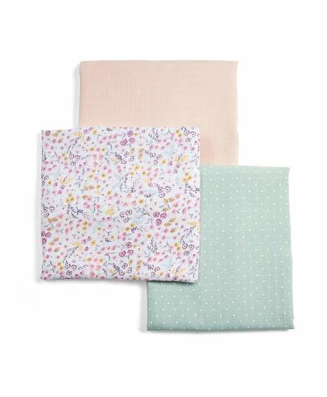 Lilybelle 3Pk Muslin Squares Large