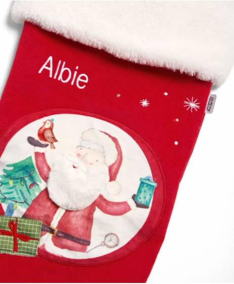 Santa Stocking - Large