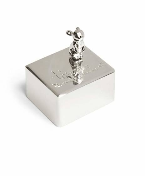 Forever Treasured Music Box - Silver