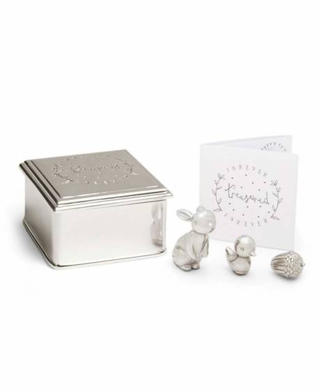 Forever Treasured Trinket Set - Silver