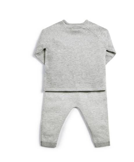 Knitted 'Hello World' Jumper & Leggings - 2 Piece Set