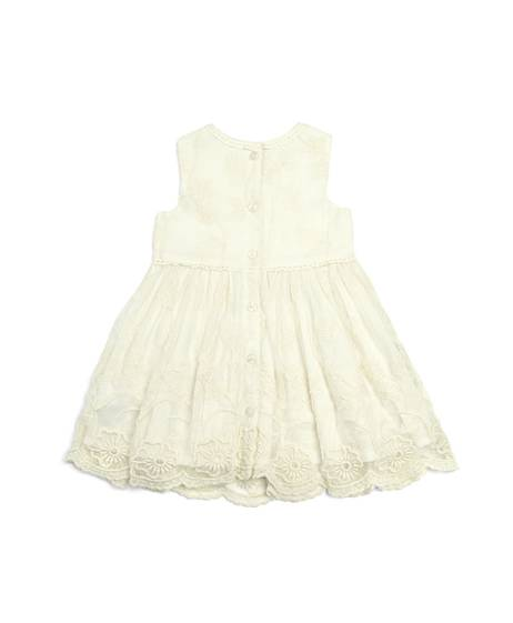 Lace Dress - Cream