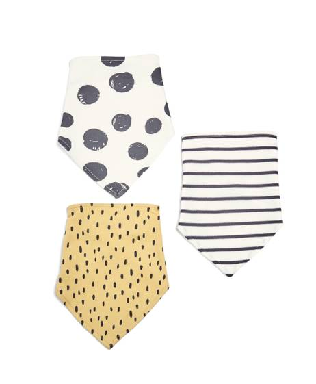 Monochrome Bibs - 3 Pack