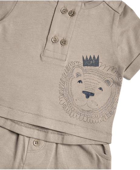 Lion Shorts Set - 2 Piece