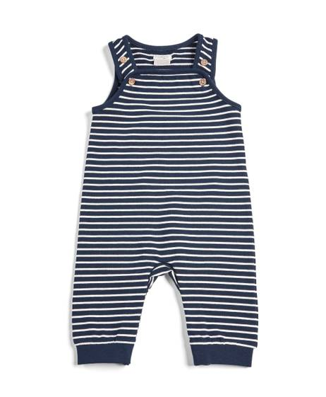 Striped Sweat Dungaree