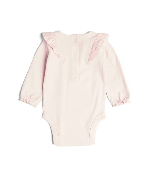 Embroidered Yoke Bodysuit