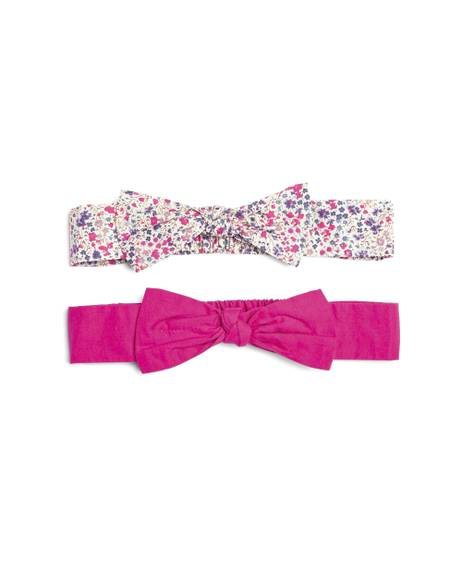 2 Pack of Liberty Bow Headbands