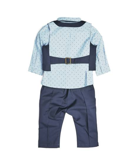 NAVY 4PC SUIT SET