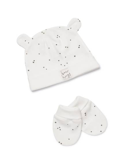 STAR All-over-print HAT & MITTS