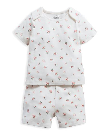 Rose Bud Jersey Short Pyjamas