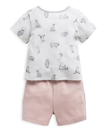 Bear Jersey Short Pyjamas