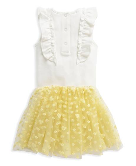 2 Piece Bodysuit & Embroidered Tutu