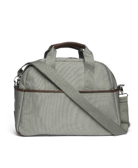 Bowling Style Changing Bag with Bottle Holder - Sage Green