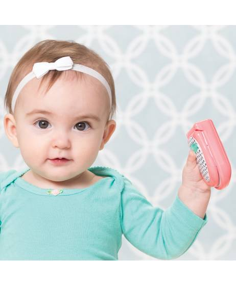 Infantino - Flip & Peek Fun Phone - Pink