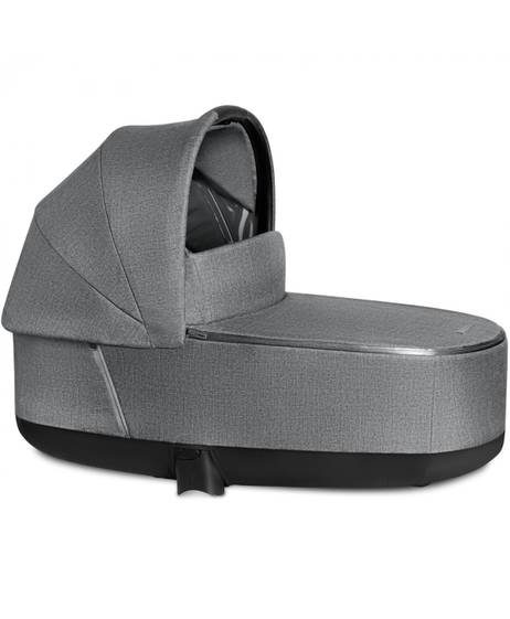 PRIAM Carry Cot Lux Manhattan Grey