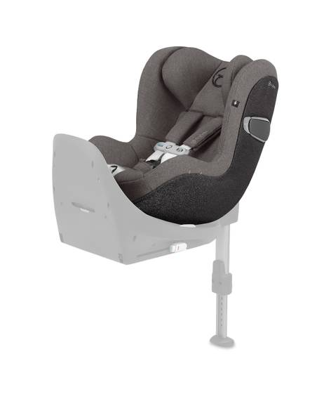 Cybex Sirona Z i-Size Sensorsafe plus - Soho Grey with Cloud Z Base