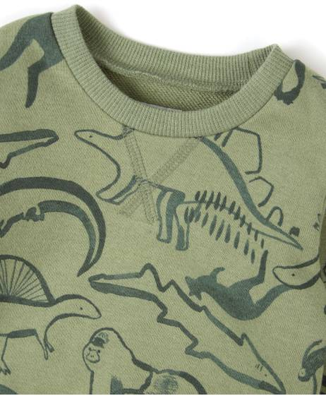 SAFARI All-over-print SWEATER
