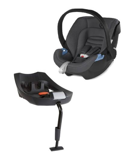 Aton XXL Comfy Grey with Isofix Base