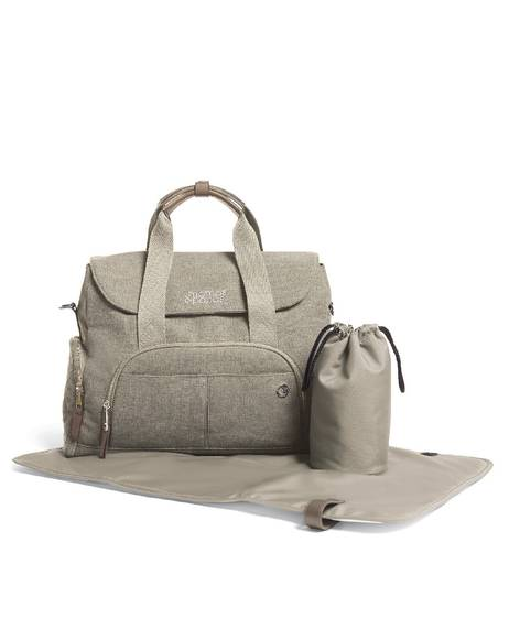 Bowling Style Changing Bag - Cashmere
