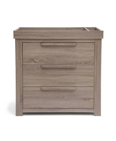 Franklin 3 Door Dresser & Changing Unit - Grey Wash