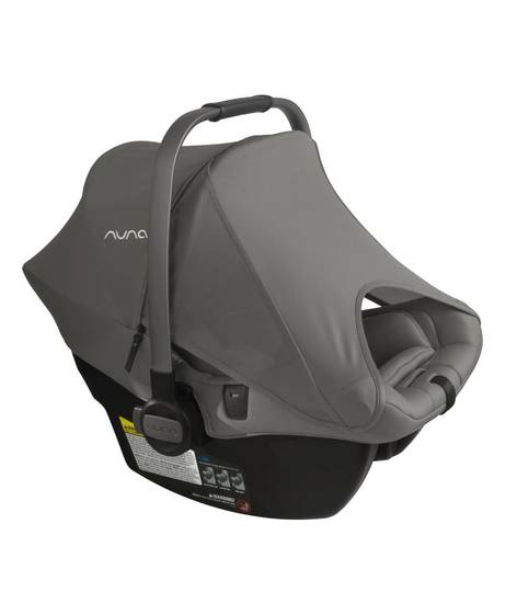 Nuna Pipa Lite LX Infant Car Seat with Base- 2nd Insert Frost