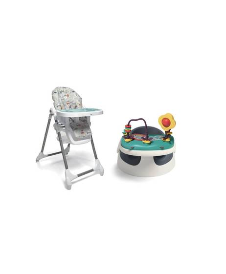 Baby Snug - Navy & Snax Highchair - Miami Beach
