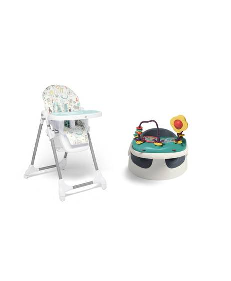 Baby Snug - Navy & Snax Highchair - Safari