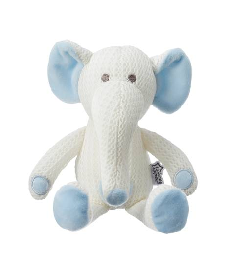 Tommee Tippee Breathable Toy, Eddy The Elephant - Blue