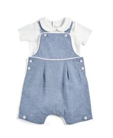 Shortie Dungaree with Polo