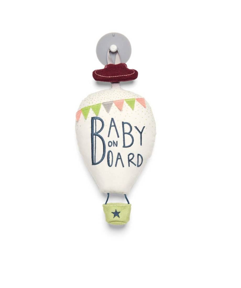 Baby On Board Sign Suction Cup Sign New Born Mum And Baby On Board Car Sign